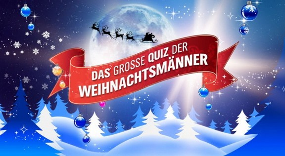 Cliparts.TV Das grosse Quiz der Weihnachtsmänner Logo 324