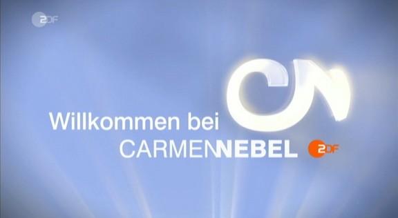 Cliparts.TV Spieletechnik Willkomen bei Carmen Nebel - Copyright 2013 ZDF 324_Logo