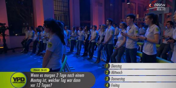 Cliparts.TV Spieletechnik YPD Challenge 2014 Copyright Servus.TV 288_006