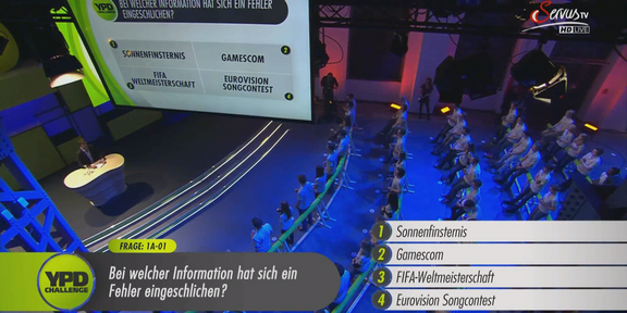 Cliparts.TV Spieletechnik YPD Challenge 2014 Copyright Servus.TV 288_010