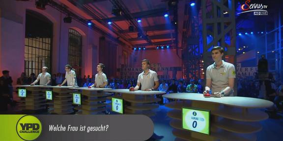 Cliparts.TV Spieletechnik YPD Challenge 2014 Copyright Servus.TV 288_016