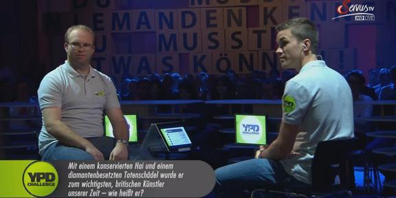Cliparts.TV Spieletechnik YPD Challenge 2014 Copyright Servus.TV 288_017