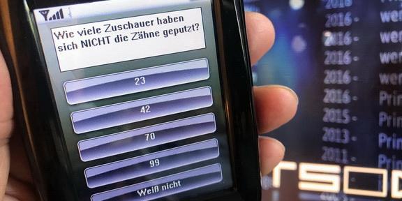 Cliparts.de Medientechnik GmbH - Vote by Touch Publikums-Abstimmanlage - Copyright 2017 Cliparts.de 288 001