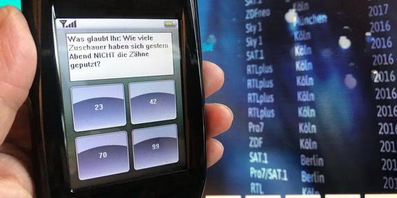 Cliparts.de Medientechnik GmbH - Vote by Touch Publikums-Abstimmanlage - Copyright 2017 Cliparts.de 288 002