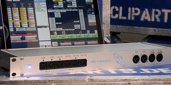 Cliparts.tv Interactive Media Solutions GmbH - MIDI-Tranceiver - Copyright Cliparts.tv Interactive Media Solutions GmbH 288 001