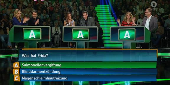 Cliparts.TV Interaktive Medientechnik Hirschhausens Quiz des Menschen 2015 Copyright Das Erste 2015 _288_ 008