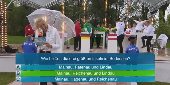 Cliparts.de Medientechnik GmbH - Die großw Drei-Länder-Show 2017 Copyright ZDF 2017 288 011