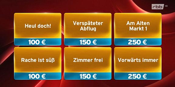 Cliparts.de Medientechnik GmbH Spieletechnik für Jede Antwort zählt - RBB - Copyright 2017 RBB 288 003