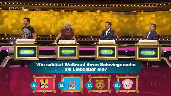 Cliparts.de Medientechnik GmbH Spieletechnik für Stars im Spiegel - RTL Screenshots TV-Ausstrahlung Copyright 2018 RTL Television 324 038