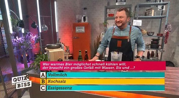 Cliparts.tv Interactive Media Solutions GmbH - Spieletechnik für Quiz mit Biss - Copyright 2019 Kabel eins 324 013
