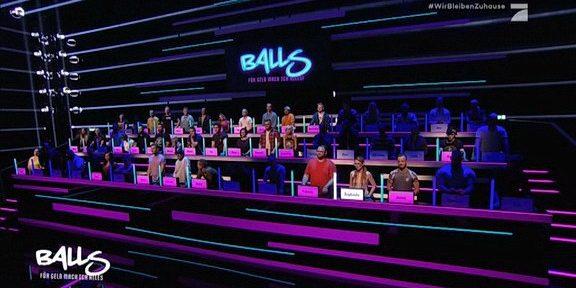 Cliparts.tv Interactive Media Solutions GmbH - Spieletechnik für Balls - Für Geld tu ich alles - Copyright 2020 ProSieben 288 004
