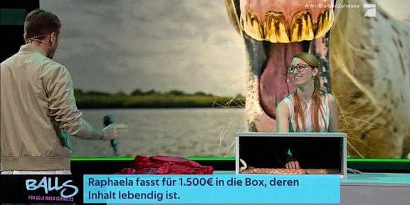 Cliparts.tv Interactive Media Solutions GmbH - Spieletechnik für Balls - Für Geld tu ich alles - Copyright 2020 ProSieben 288 007