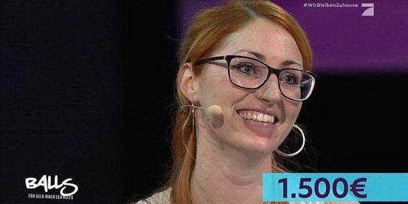 Cliparts.tv Interactive Media Solutions GmbH - Spieletechnik für Balls - Für Geld tu ich alles - Copyright 2020 ProSieben 288 008