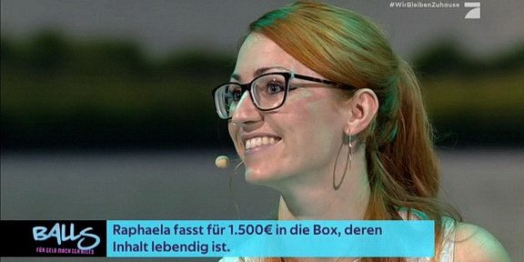 Cliparts.tv Interactive Media Solutions GmbH - Spieletechnik für Balls - Für Geld tu ich alles - Copyright 2020 ProSieben 288 009