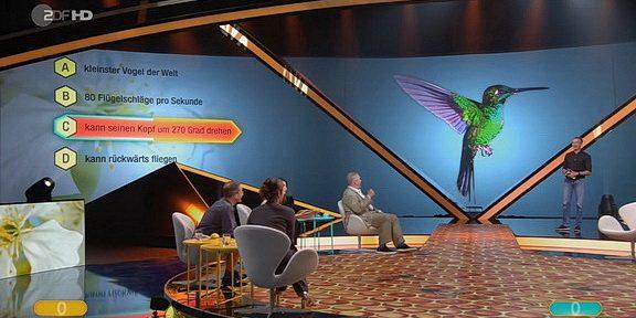 Cliparts.tv Spieletechnik für Unsere Schätze - Die grosse Terra X Show - Copright 2020 - ZDF 288 032