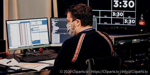Cliparts.tv Spieletechnik für Luke Die Great Night Show - Copyright 2020 Cliparts.tv 324 006.