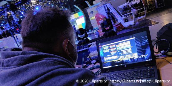 Cliparts.tv Spieletechnik für RTL Spendenmarhon 2020 - Copyright 2020 Cliparts.tv 288 006