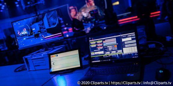 Cliparts.tv Spieletechnik für RTL Spendenmarhon 2020 - Copyright 2020 Cliparts.tv 288 009