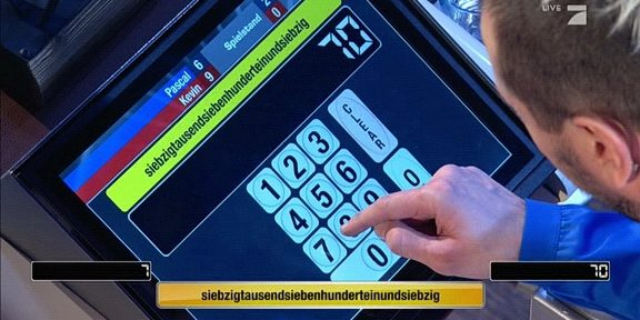Cliparts.tv Spieletechnik für Schlag den Star live 56 Screenshot Copyright 2021 ProSieben 288 021