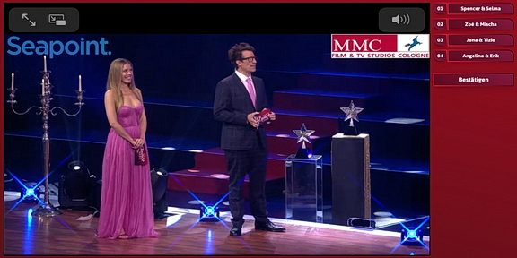 Cliparts.tv Spieletechnik für Let's Dance Kids - Copyright 2021 TV Now - 288 010