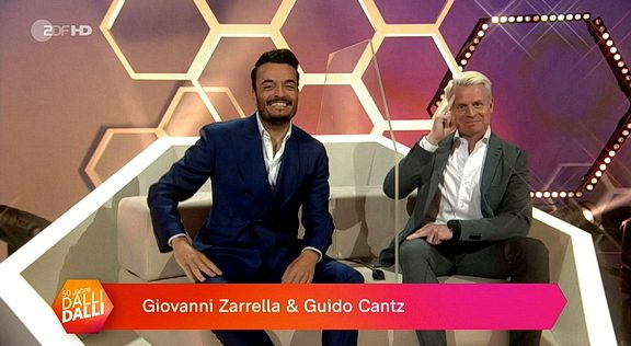 Cliparts.tv Interactive Media Solutions GmbH - Spieletechnik für 50 Jahre Dalli Dalli - Screenshots - Copyright 2021 ZDF 288 001