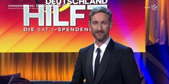 Cliparts.tv Interactive Media Solutions GmbH - Spieletechnik für Deutschland hilft Die SAT.1-Spendengala - Copyright 2021 SAT.1 288 031