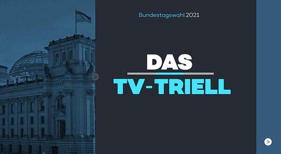 Cliparts.tv Spieletechnik für das TV-Triell - Copyright 2021 ProSiebenSAT.1 - 324 001