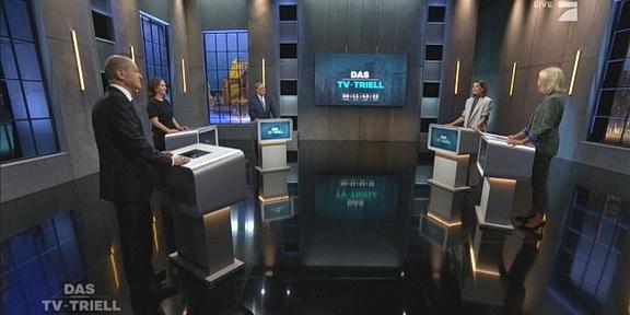 Cliparts.tv Spieletechnik für das TV-Triell - Copyright 2021 ProSiebenSAT.1 - 324 008