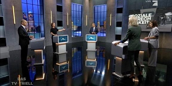 Cliparts.tv Spieletechnik für das TV-Triell - Copyright 2021 ProSiebenSAT.1 - 324 019